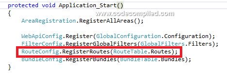 Routing in MVC
