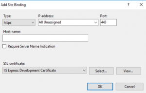 Install ssl certificate in IIS locally 3
